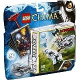 LEGO Legends Of Chima - Speedorz - 70106 - Jeu de Construction - La Tour de Glace