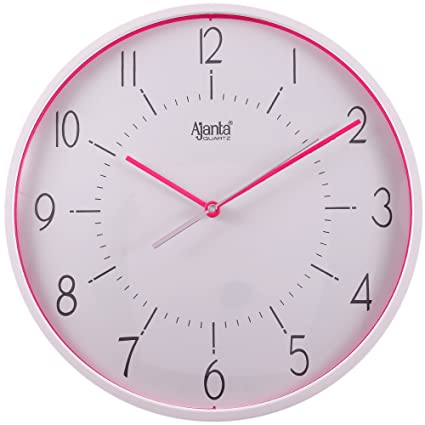 buy ajanta fancy wall clock silent wall clock online at low prices