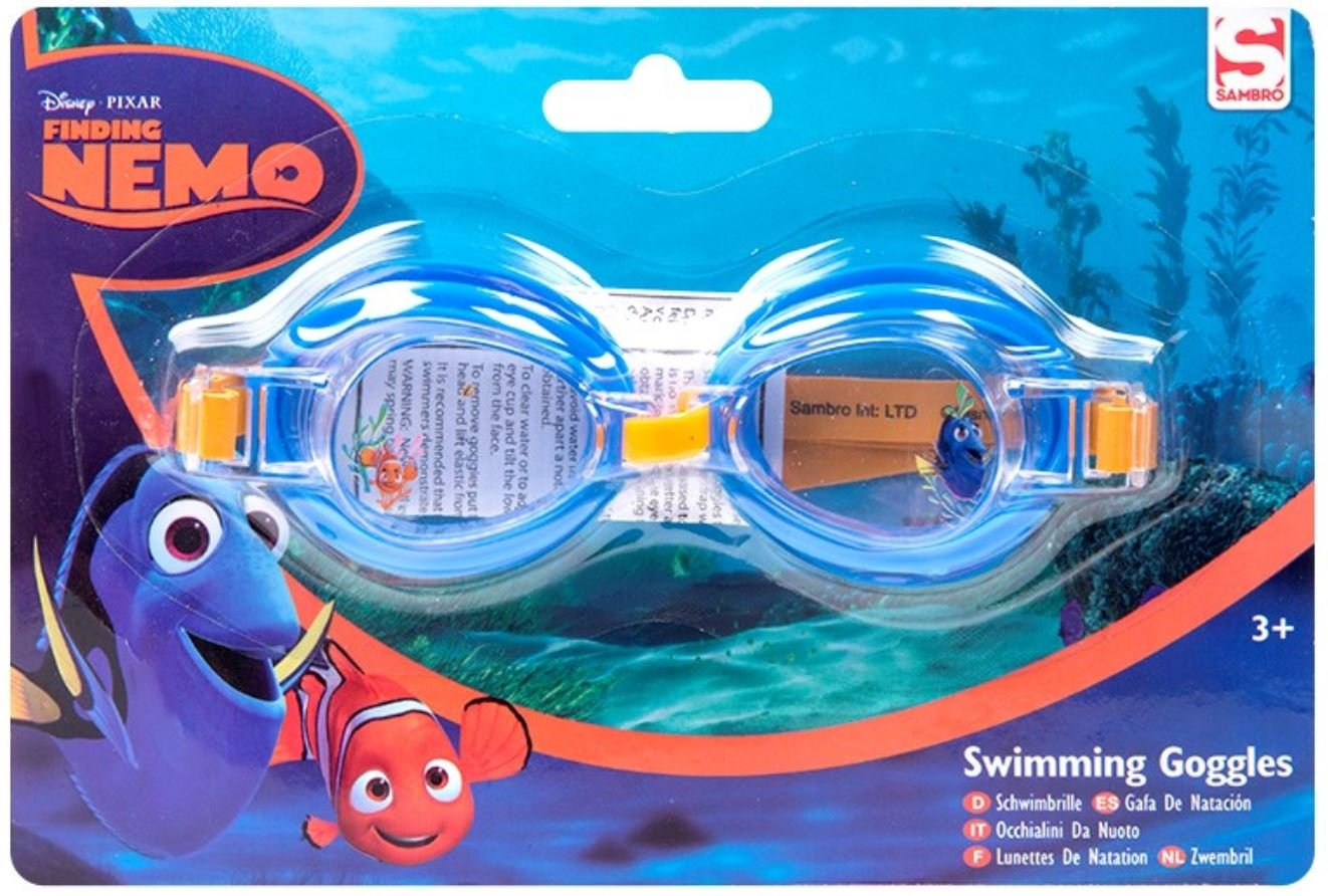 Disney Finding Dory Kids 3D Swimming Goggles Girls Boys Children 3+