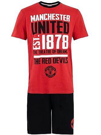 more photos retro performance sportswear Manchester United FC Mens Man U Pyjamas
