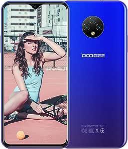 DOOGEE X95 4G Smartphone Libre Android 10 (2020), Teléfono Móvil Dual SIM, 6.52 Waterdrop Pantalla, Batería 4350mAh Carga Rápida, 2GB+16GB, 13MP+2MP+2MP+5MP, GPS WiFi, Reconocimiento Facial Azul: Amazon.es: Electrónica