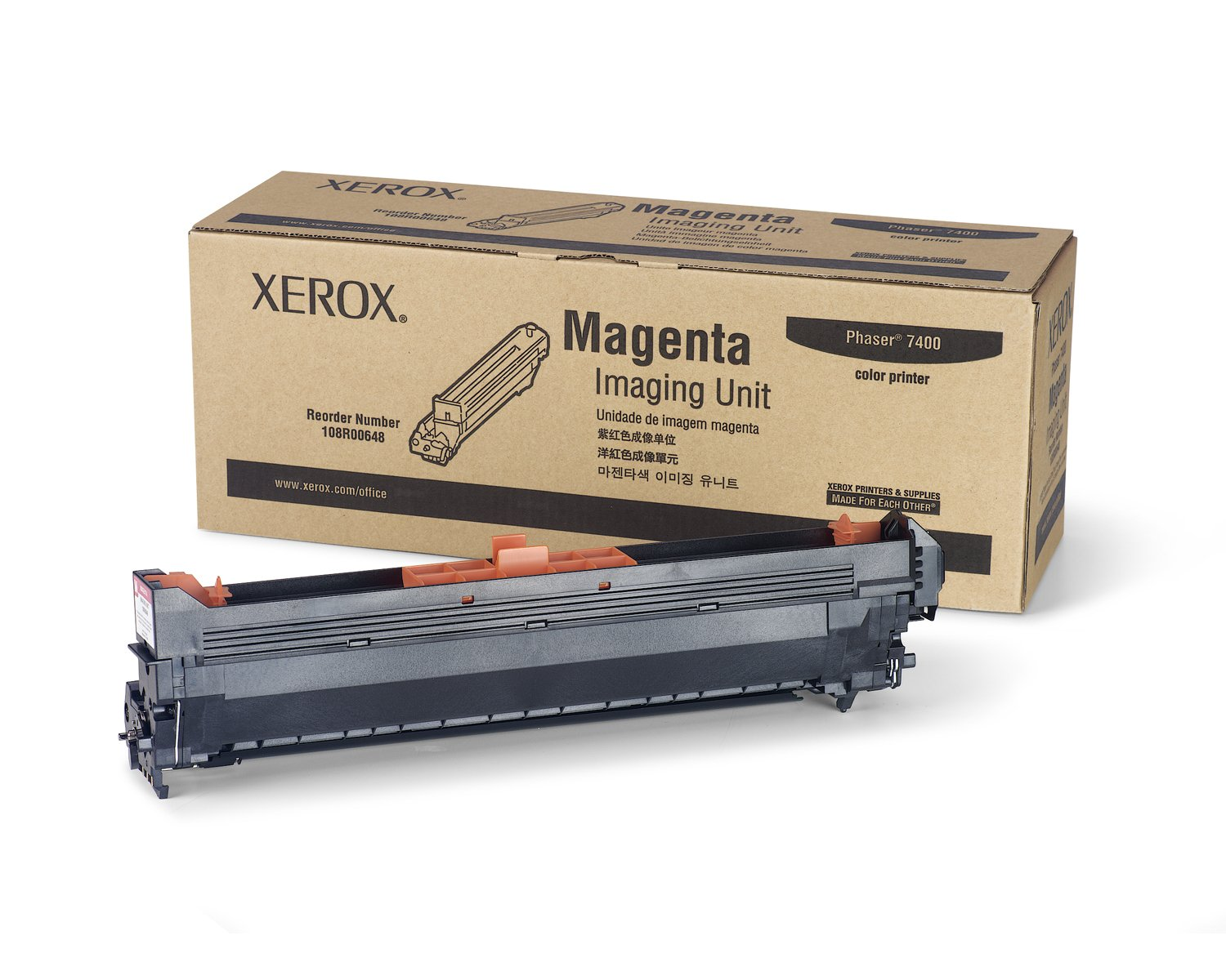 Xerox Phaser 7400 Imaging Unit 108R00648 Magenta Xerox (UK) Ltd. Xerox.108R00648