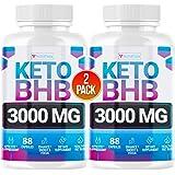 Keto Pills - (2 Pack   120 Capsules) - 5X Potent - Advanced Keto Burn Diet Pills - Best Exogenous Ketones BHB Supplement for