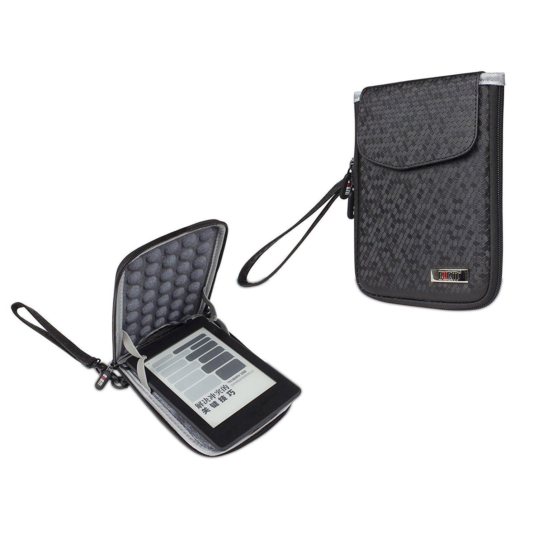 Étui de protection pour Kindle, Pochette Étui Housse coque sacoche portable de Voyage pour Kindle (Noir) Pochette Étui Housse coque sacoche portable de Voyage pour Kindle (Noir) BUBM