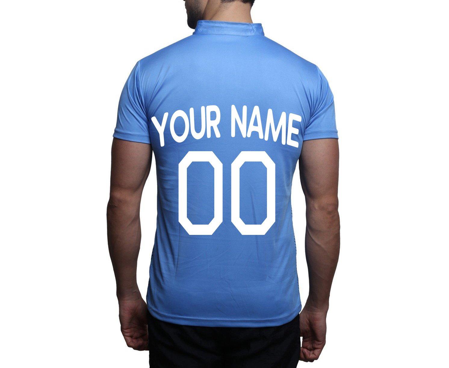 ac6996215 Amazon.com: Catman Cricket Jersey Indian Cricket Fan Jersey Personalised Cricket  Jersey: Sports & Outdoors