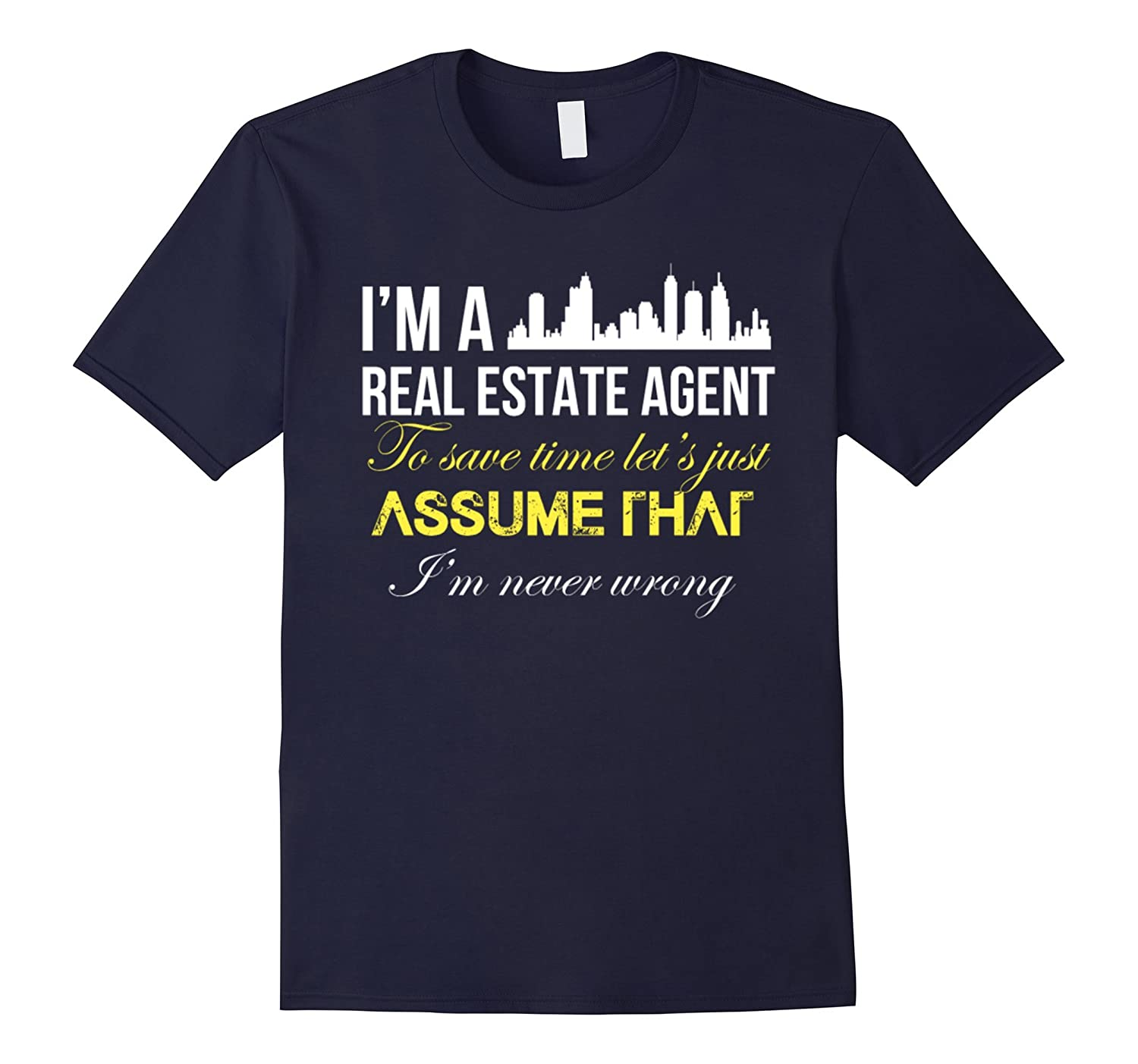 Real estate agent - Im a real estate agent t shirt-TD