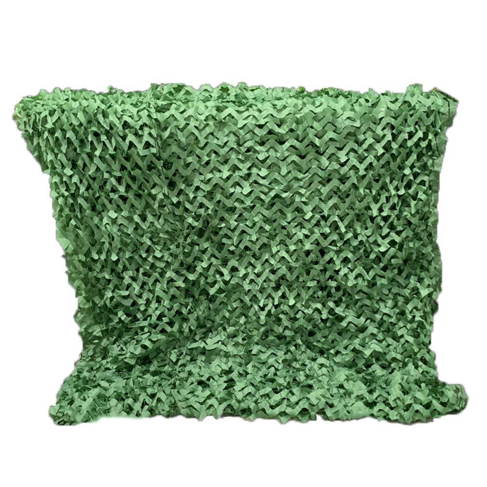 vert 3x5m GGYMEI Filet De Camouflage Filet D'ombrage Résistant à L'usure Facile à Plier Facile à Porter Abat-jour Extérieur En Fibre De Polyester, 28 Tailles (Couleur   vert, Taille   5x5m)
