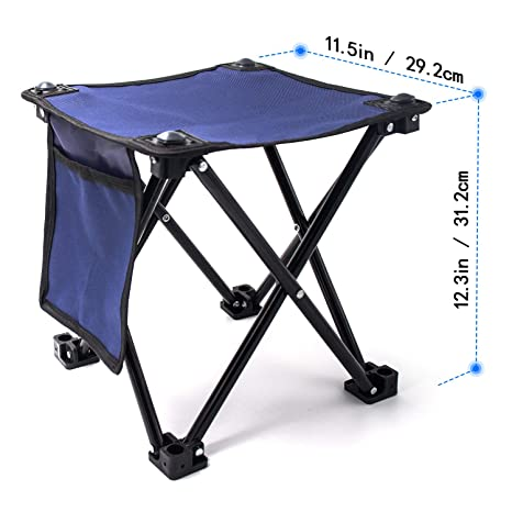 Swell Aiwoxing Small Folding Stool Portable Mini Step Slacker Stool Camping Folding Chairs Outdoor Collapsible Camp Stool For Fishing Camp Traveling Uwap Interior Chair Design Uwaporg