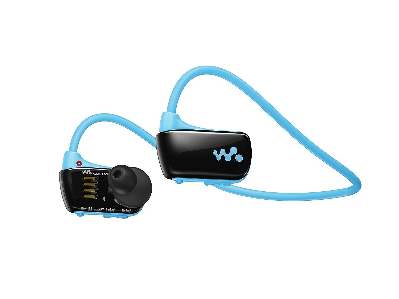 【並行輸入品】 SONY ウォークマン Wシリーズ 4GB ヘッドホン一体型 防水タイプ ブルー NWZW273BLUE   B00BWUCX8E