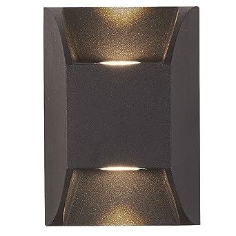 Led Mur Lampe Alu Luminaire Down Extérieur Effet Luxe Up Plot OPX8Nwn0k