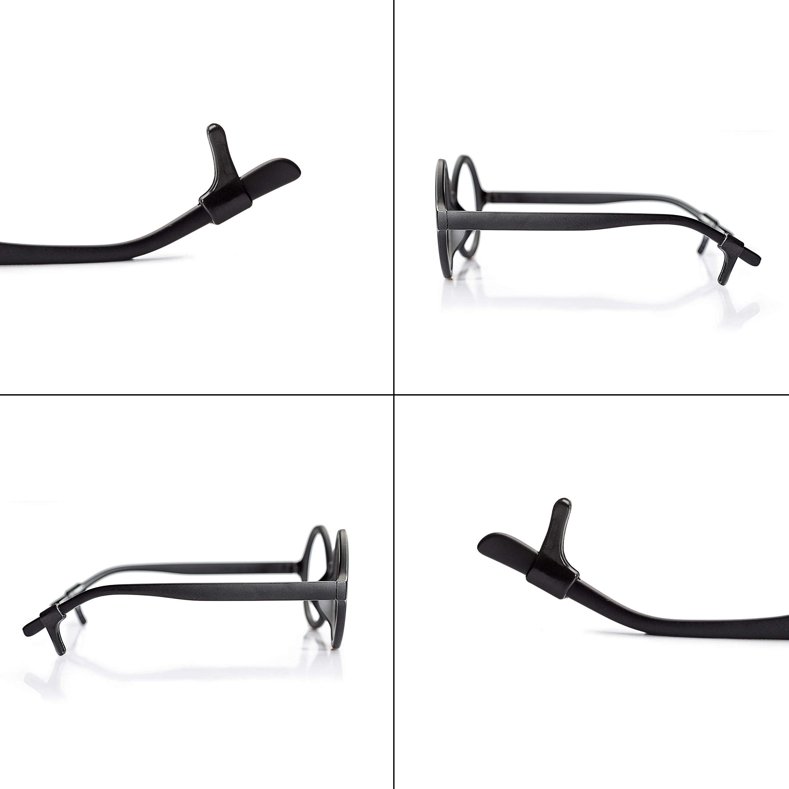 27cd954640 Keepons Lite Black Prevent Eyeglass Slipping Anti Slip Anti Slide Eyewear  Sunglasses Spectacles Glasses Temple Tips
