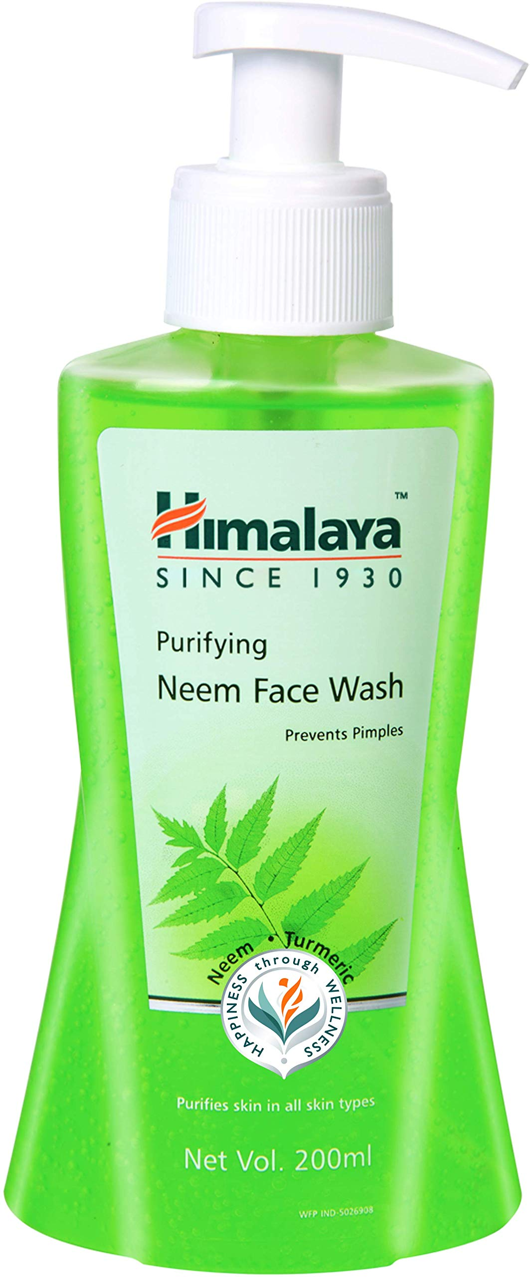 Himalaya Herbals Purifying Neem Face Wash, 200ml product image