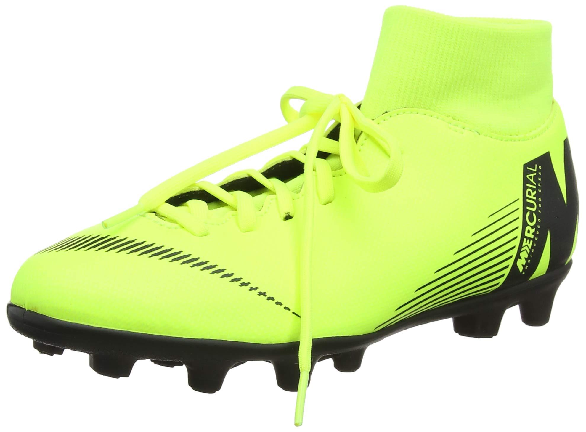 NIKE Mercurial Superfly 6 Club MG Soccer Cleat (Volt) (Men's 8/Women's 9.5)