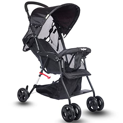 78a037eccd0 Buy Baybee Shade - Baby Buggy Stroller (Grey) Online at Low Prices in India  - Amazon.in