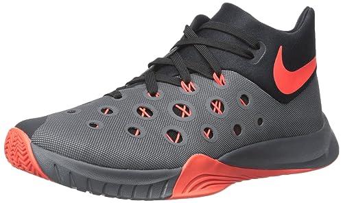 new product 6b00c 08e19 NIKE Zoom Hyperquickness 2015 Men s Basketball Shoes 749882-060 Dark Grey  11 ...