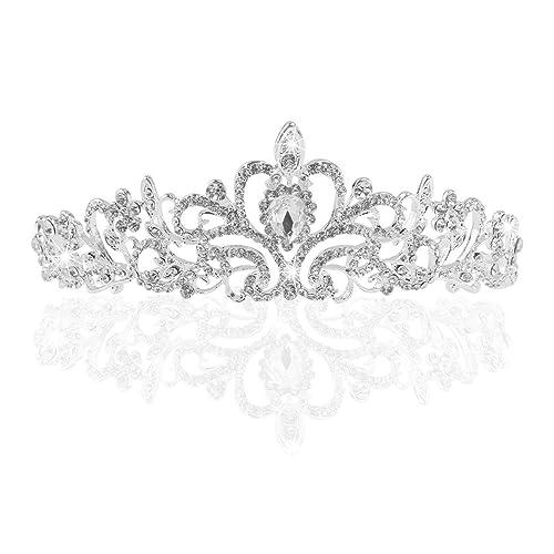 Nipoo Hochzeit Braut Strass Kristall Tiara Krone Geburtstag Party