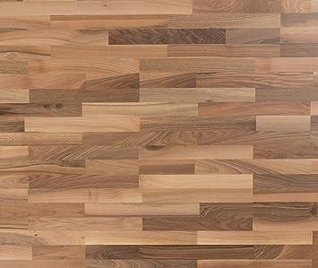 Top HORI® Klick Parkett 300 Dielenboden Parkettboden Nussbaum IS35
