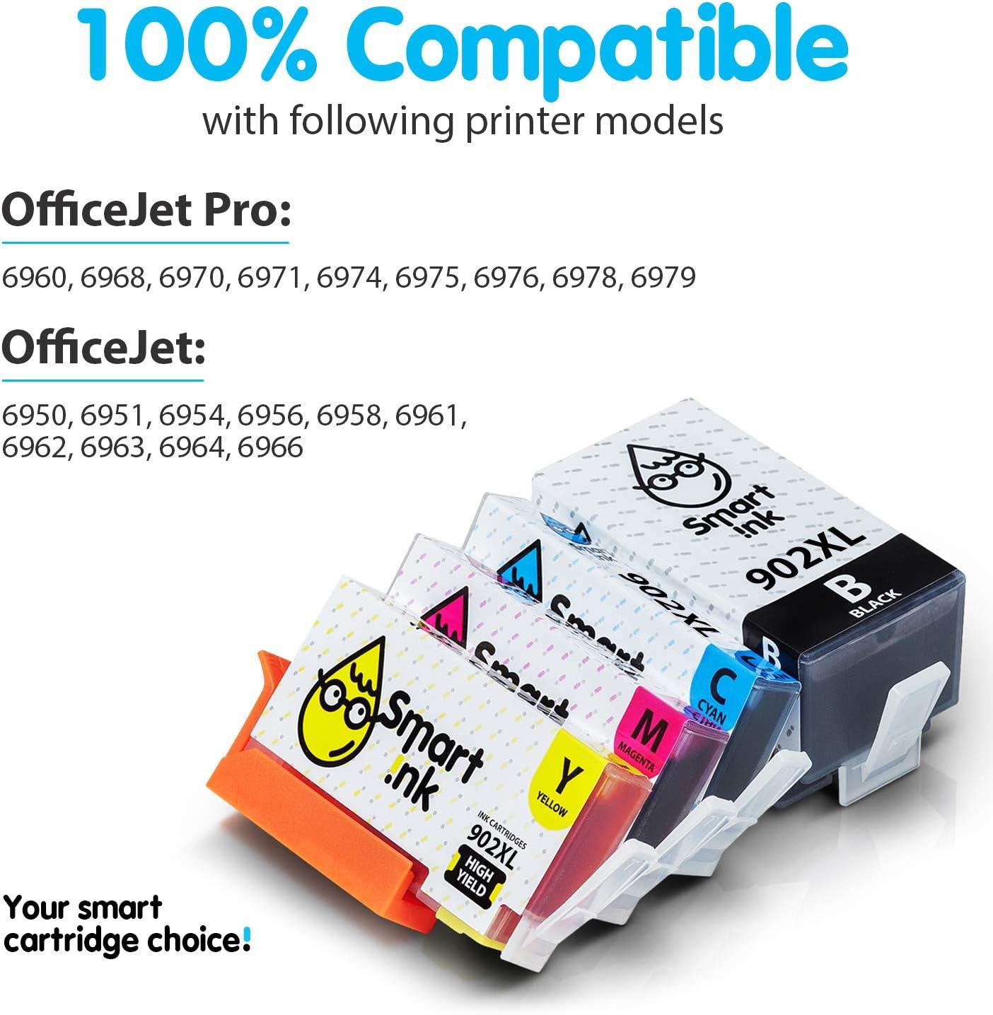 New Genuine Hp 902XL ink cartridge 902 Color Yellow Cyan Magenta Lot Fresh Exp.