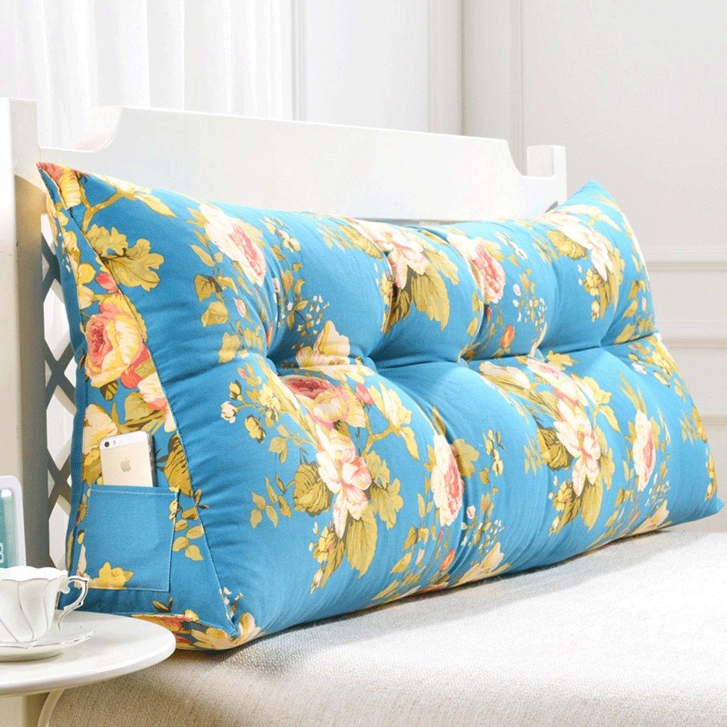 GXY Doppel Zurück Sofa Headboard Soft Pack Tatami Bett Kissen Lendenkissen Taille Kissen (Farbe : V, größe : 200cm)