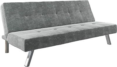 Amazon Com Dhp Emily Futon Sofa Bed Modern Convertible