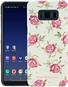 VQ Emma Bridgewater Slim Mobile Phone Case for Samsung Galaxy S8 - Rose & Bee