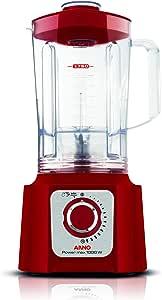 Liquidificador Power Max 1000W, Arno LN54, Vermelho