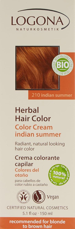 03d0e2fba Logona Colour Cream, Indian Summer 150 ml: Amazon.co.uk: Beauty
