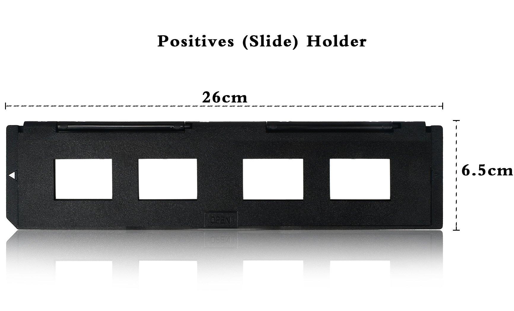 DIGITNOW! 1 Pack Spare 135 Slide Holder and 1 pack spare 35mm film holder for Slide/film Scanner(7200, 7200u, 120 Pro Scanners) by DIGITNOW (Image #3)