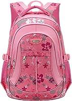 Coofit Sacs à dos d'école primaire enfant fille Cartble Sacs à dos college Sac de Voyage Cartble scolaire (Rose)