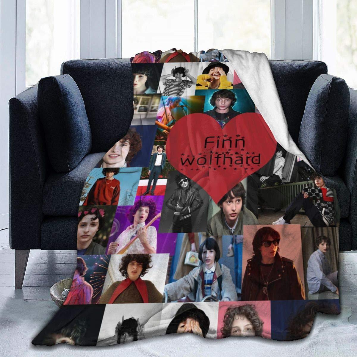 ZAZAHUI Finn Wolfhard Blanket Love Collage Ultra-Soft Micro Fleece Blanket
