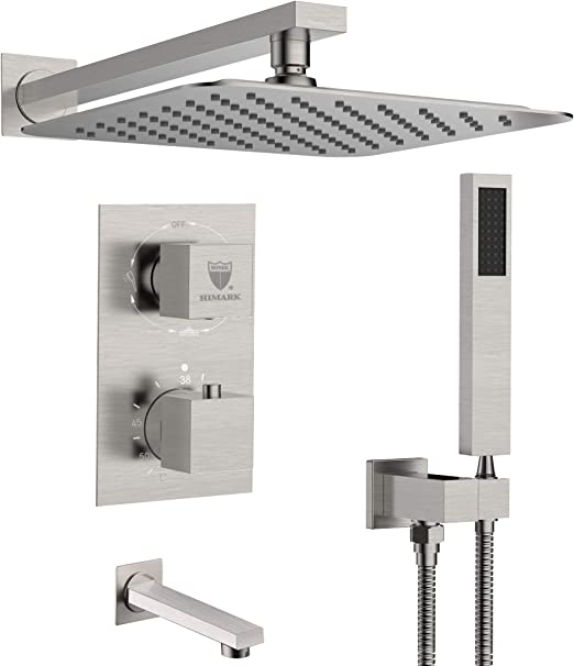 12 x 12 Concealed Shower Bracket