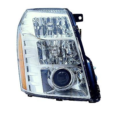Depo 332-11B3R-ASH Head Lamp Assembly (Cadillac Escalade 07-09/Hybrid 09with Hid 1St Design): Automotive