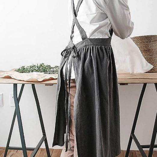 delantal para jardin cocina