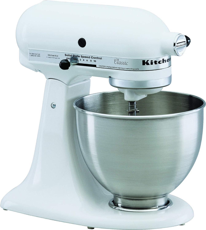 Kitchenaid 5k45ssewh Kuchenmaschine 250 Watt Weiss