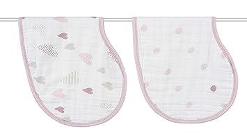aden Ideal Newborn//Toddler Gifts anais Harry Potter Baby Burpy Bib 2 Pack Soft /& Absorbent Multi-Use Burp Cloth /& Bib Muslin Baby Bibs for Girls /& Boys Unisex Shower Items
