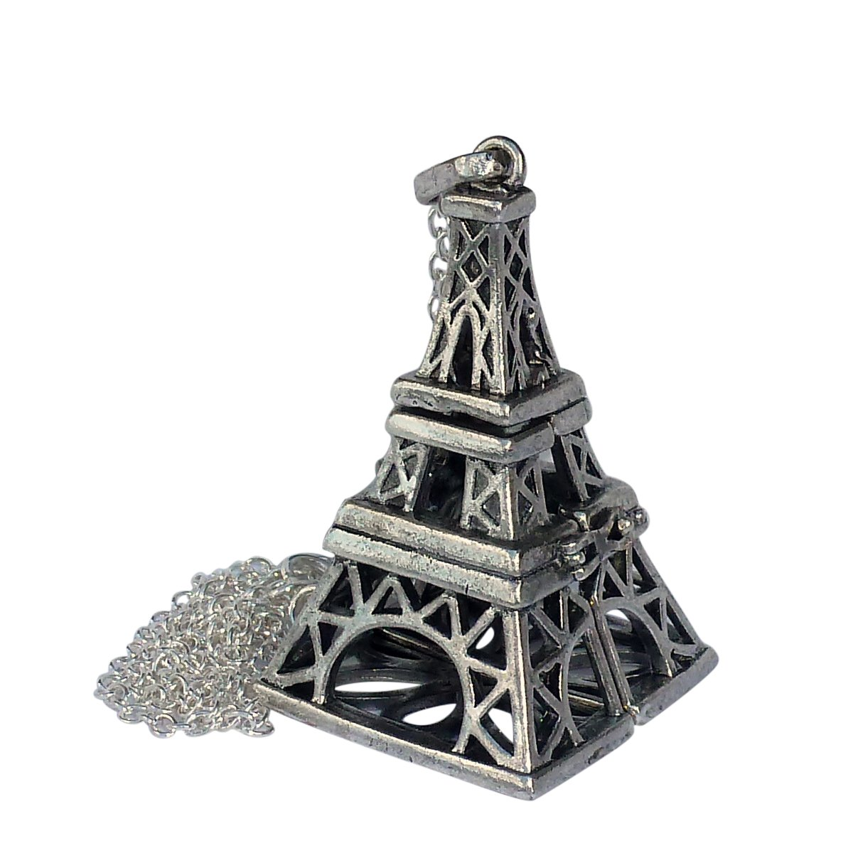 UMBRELLALABORATORY Your Personal Stylish Essential Oil Diffuser Necklace Eiffel Tower Steampunk b1 0