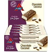 Atkins Endulge Chocolate Coconut, Low Carb, Low Sugar Snack Bar, 15 x 35g