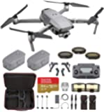 DJI Mavic 2 Zoom Fly Longer Travel Bundle - 2 Batteries, Professional Carrying Case and More