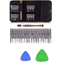 THEMISTO 27 in 1 Precision Screwdriver Set Multi Pocket Repair Tool Kit for Mobiles, Laptops, Electronics