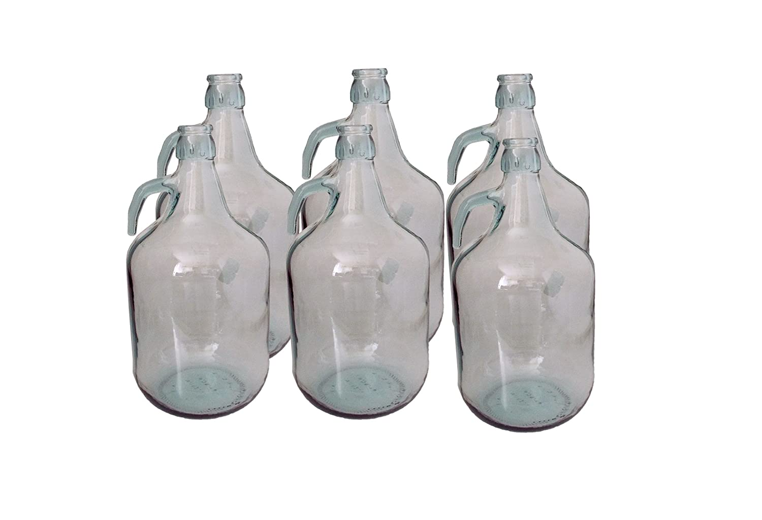 5l DEMIJOHN (FOR HOME BREWING)-BULK PACK OF 6- FAST DELIVERY E-BEST-OFFER