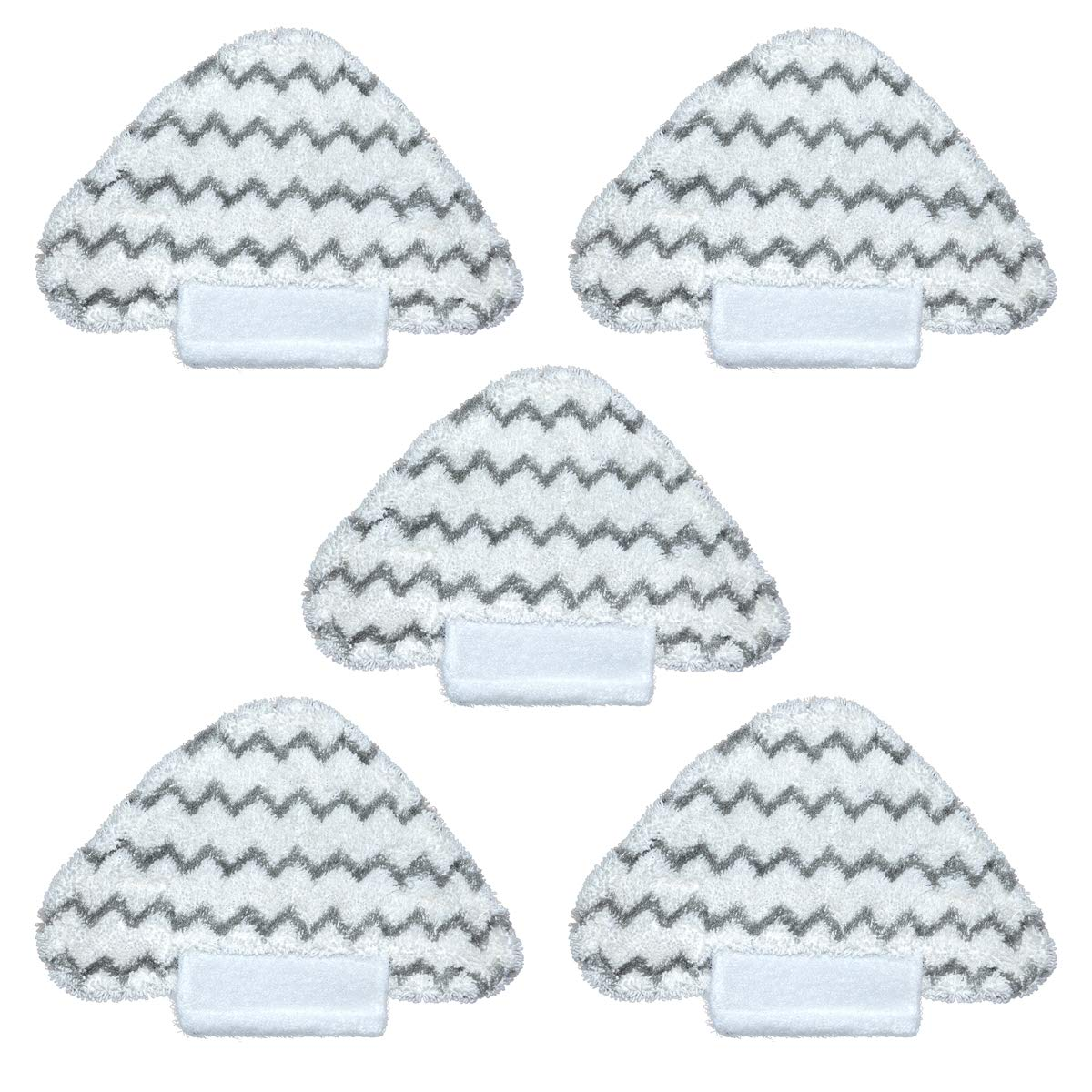 Steam Pads for Shark Lift-Away Pro Steam Pocket Mop S6001 S5001 Microfiber Steam Mop Pad for Shark S3973D S6002 S6003 Dirt Grip Pad Vacuum Cleaner Part Replacement 5PCS by Julai