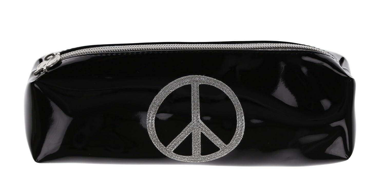 Estuche escolar, Argent color Negro Peace & Love Argent escolar, Pailleté db83b1