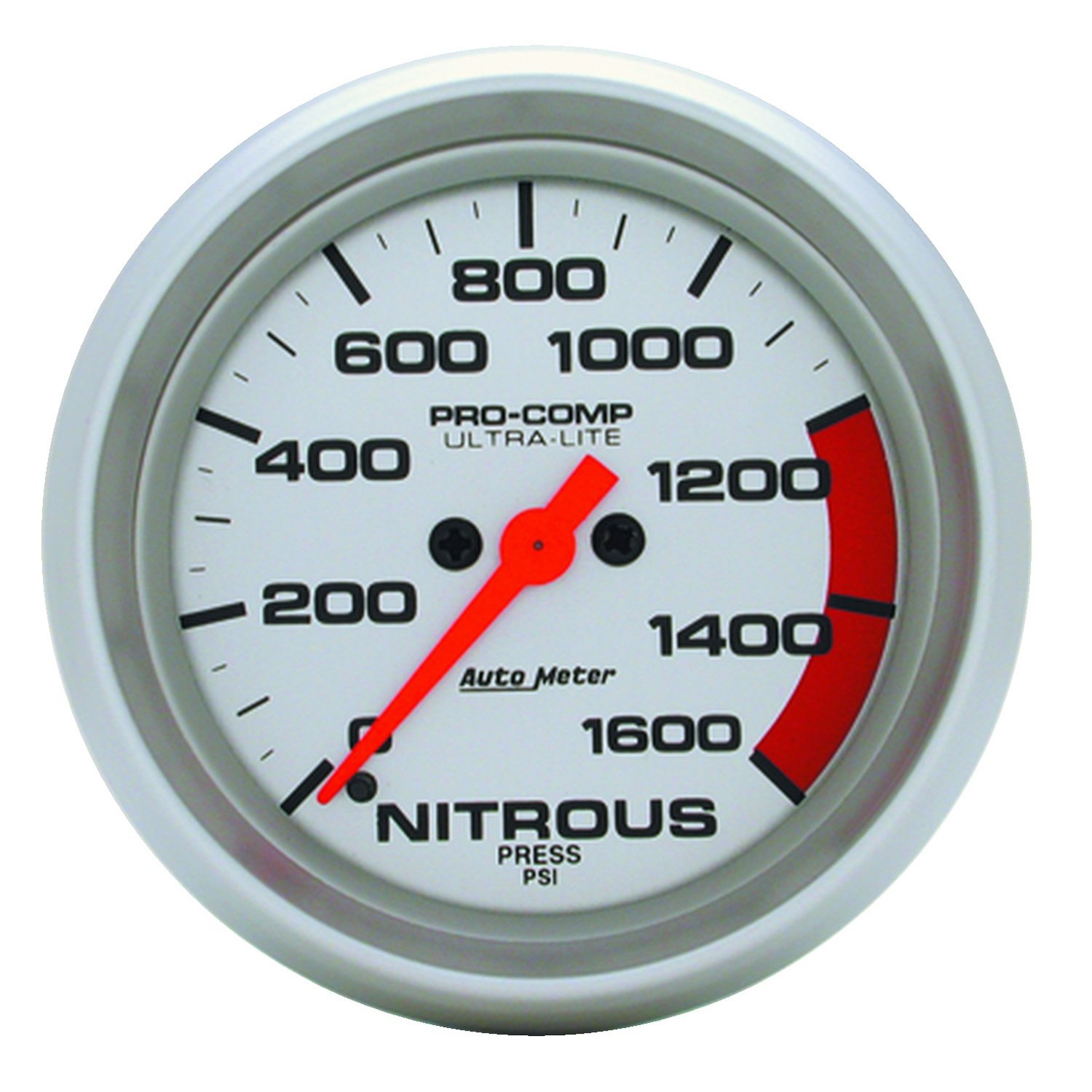 Auto Meter 4474 Ultra-Lite Electric Nitrous Pressure Gauge by Auto Meter