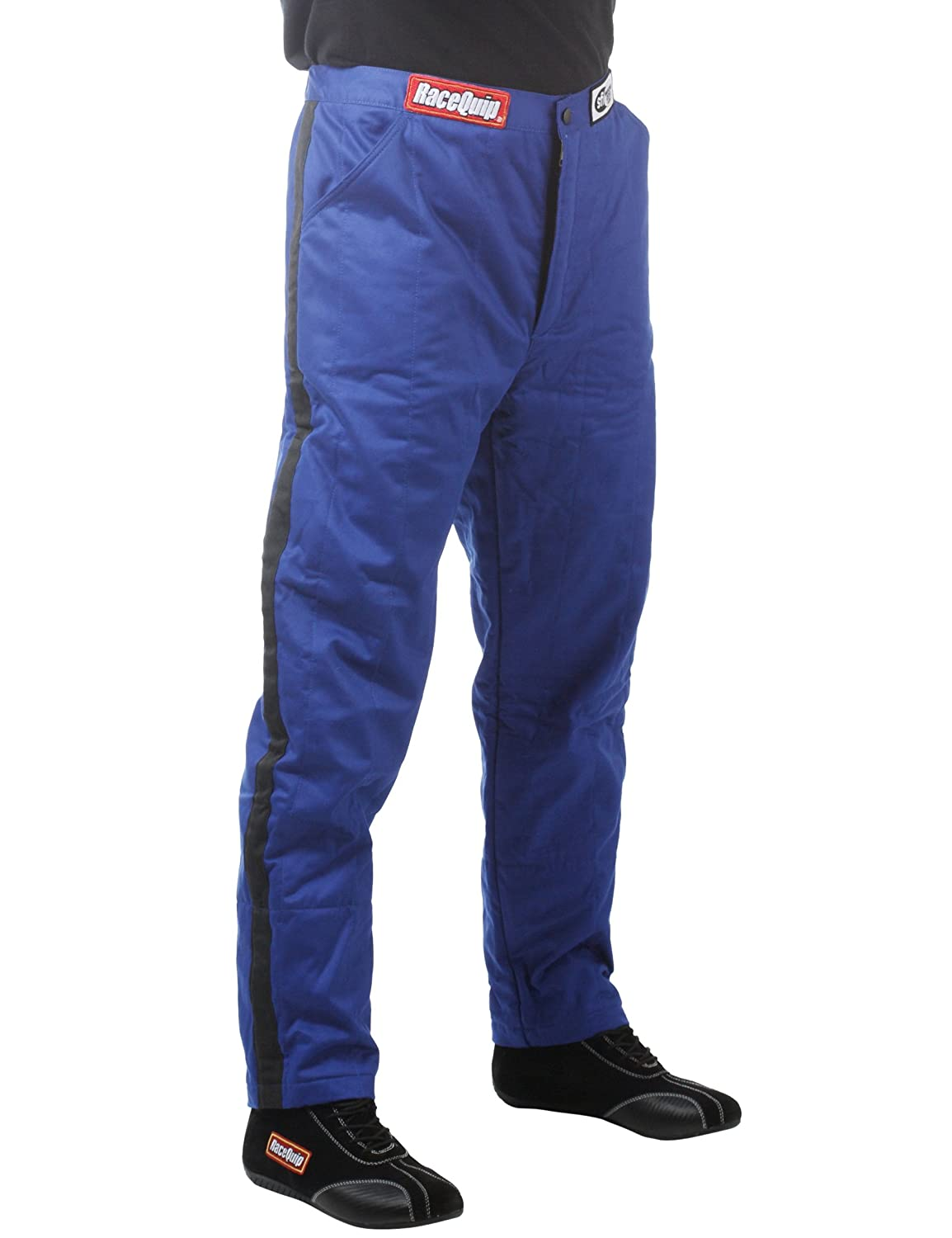 RaceQuip 122002 122 Series Small Black SFI 3.2A/1 Multi-Layer Driving Pant