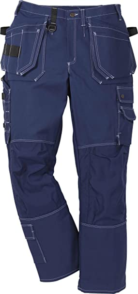 Fristads Kansas Workwear 100280 Craftsman Trousers Blue C44(30