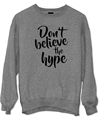 Dont Believe The Hype Cool Swag Dope Camisa de Entrenamiento ...