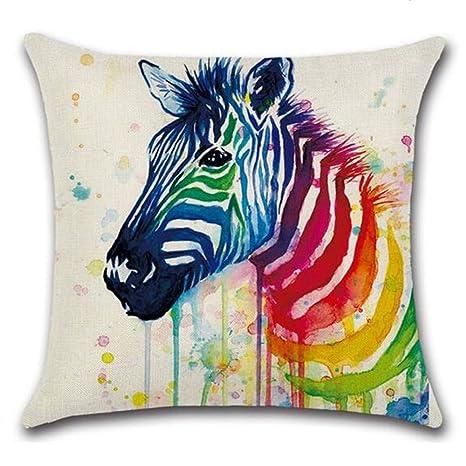 lvedu 5 patrones coloridos animales unicornio pájaro Zebra ...