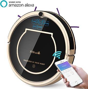 Haier XShuai Robot Vacuum Cleaner w/ Siri & Alexa Voice Control