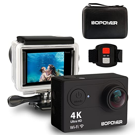 14 opinioni per Action Camera 4K Sport Action Camera,GooBang Doo,WIFI Ultra HD Waterproof DV