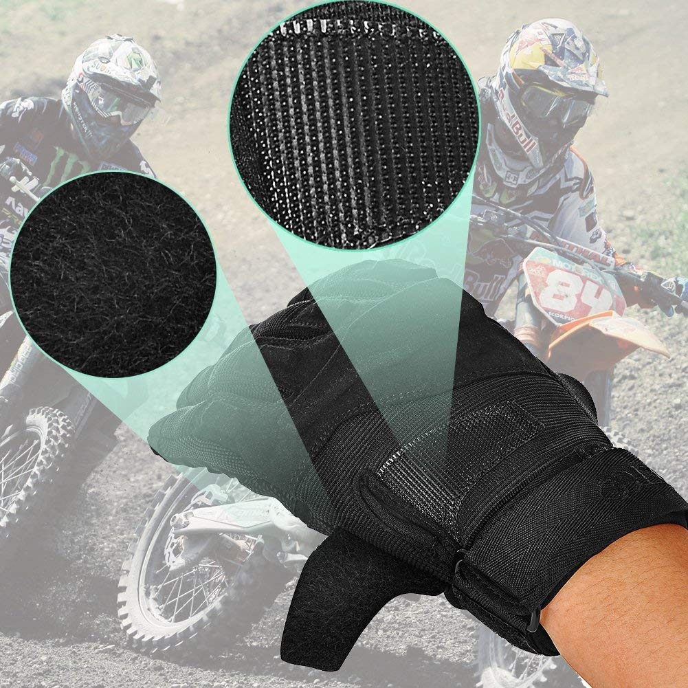 TPRANCE Tactical Gloves for Men, Full Finger Hard Knuckle Gloves for Outdoor Sports by TPRANCE (Image #9)